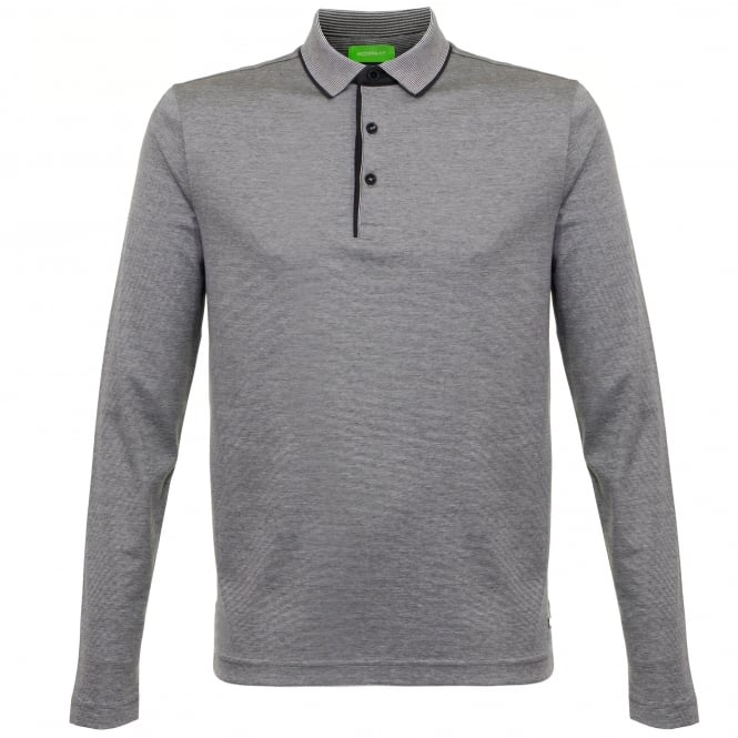 Hugo Boss Green Boss Green C-Prato Charcoal Polo Shirt 50320424