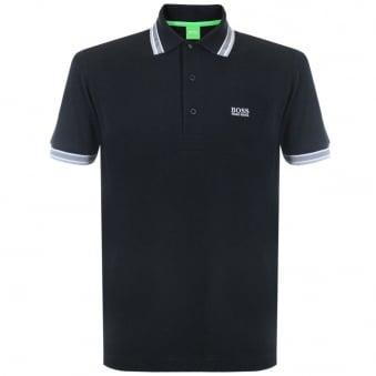 Boss Green Paddy Black Polo Top 50198254