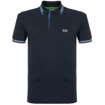 Boss Green Paul Navy Polo Shirt 50332503