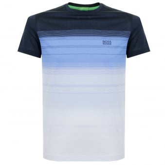 Boss Green Tee 12 Striped Navy T-Shirt 50330998
