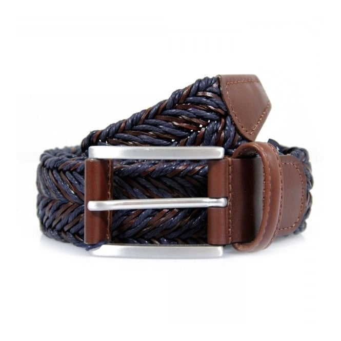 Anderson's Belts Braided Twine and Leather Belt