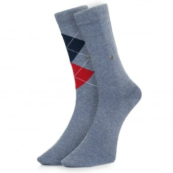 Burlington Everyday Mix 2 Pack Light Denim Socks 21044-6660