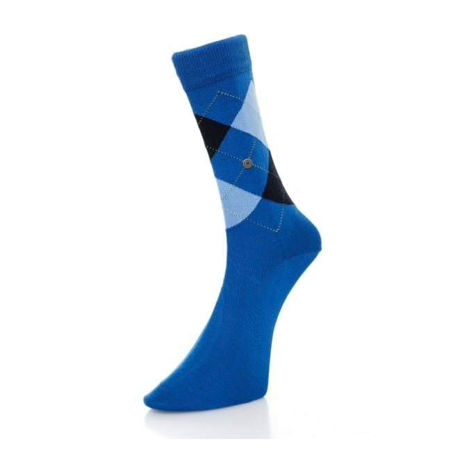Burlington Socks Burlington Manchester blue marine Argyle Socks 201826061