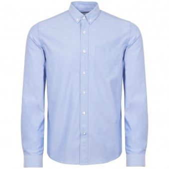 Light Blue Button Down Oxford Shirt