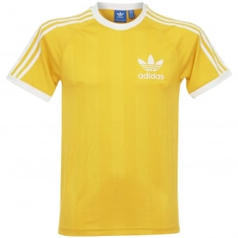 Adidas CLFN TEE Yellow T-Shirt CF5305