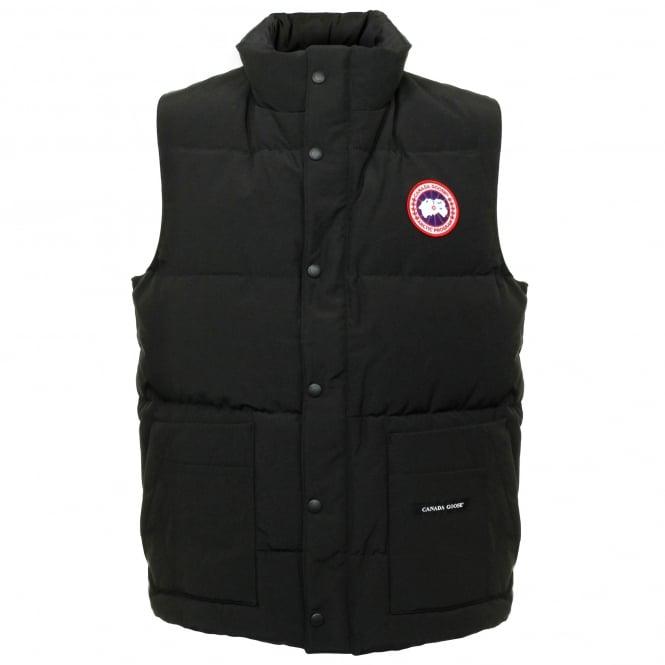 Canada Goose Freestyle Black Vest 4150M