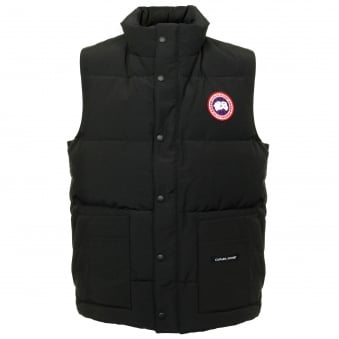 Canada Goose Freestyle Black Vest 4150M