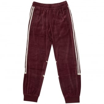 Maroon Challenger Velour Track Pants