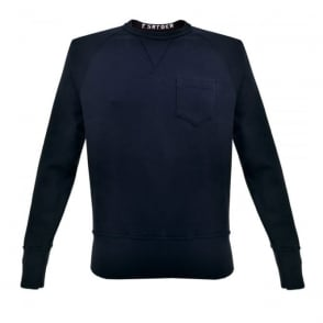 Champion X Todd Snyder Crew Neck Navy Sweatshirt D918X16