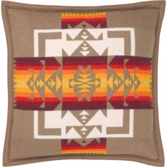 Tan Chief Joseph Pillow