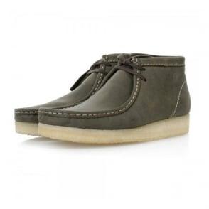 Clarks Originals Wallabee Dark Green Leaf Boots 16050