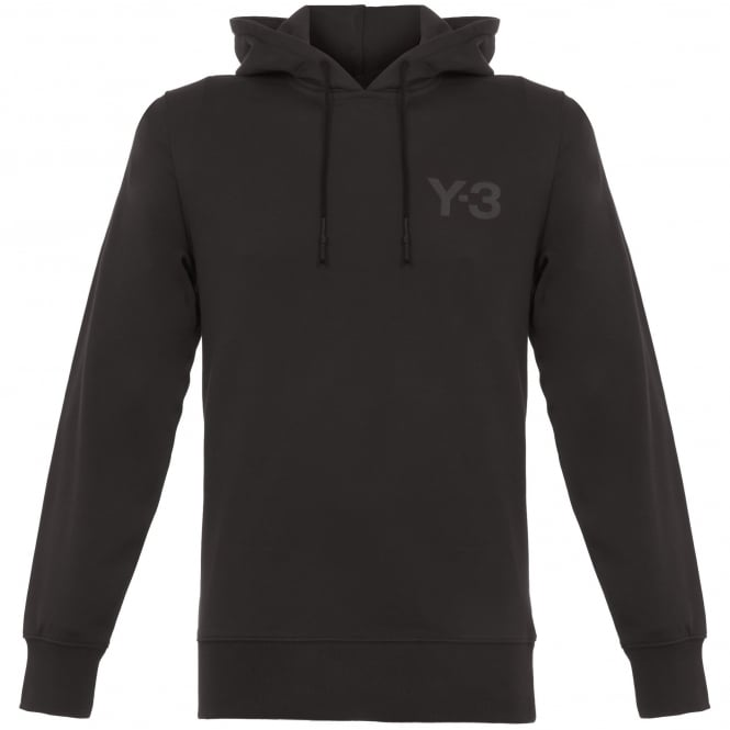 Adidas Y-3 Classic Logo Pullover Hoodie