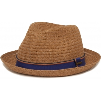 Collano Player Toyo Straw Hat- Brown
