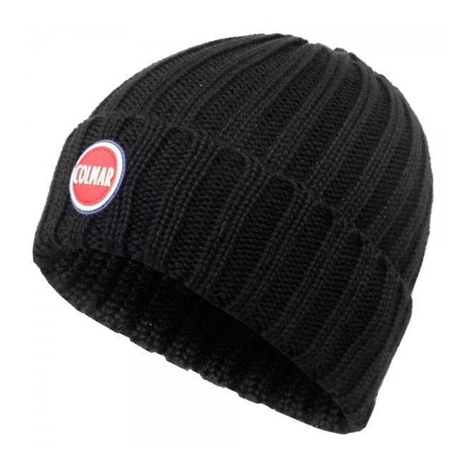 Colmar Originals Colmar Ribbed Black Pull On Beanie 5096 8LO 99