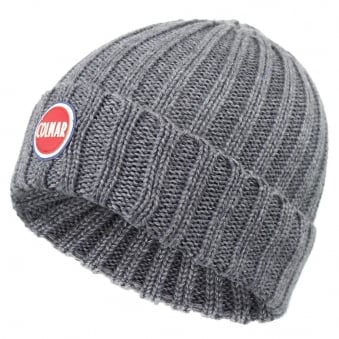Colmar Ribbed Grey Pull On Beanie 5096 8LO 21