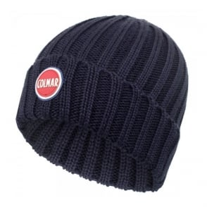 Colmar Ribbed Navy Pull On Beanie 5096 8LO 68