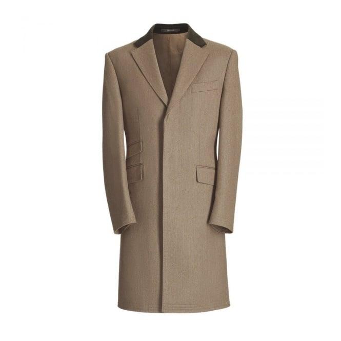 Crombie Lovat Covert Coat 3247B