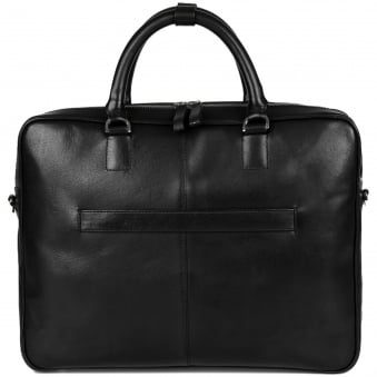 Black Dag Leather Briefcase