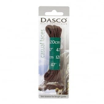 "Dasco 47"" Brown Casual Boot Laces A7262DND"