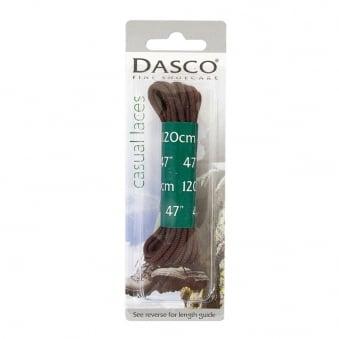 "Dasco 47"" Brown Casual Boot Laces A7262DND"