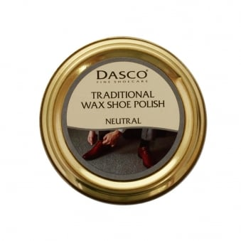 Dasco Traditional Wax Neutral Shoe Polish 3232-NAT