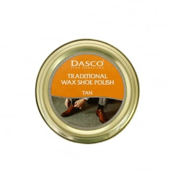 Dasco Traditional Wax Shoe Polish Tan Shoecare A3232DND