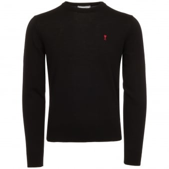 Black De Coeur Jumper