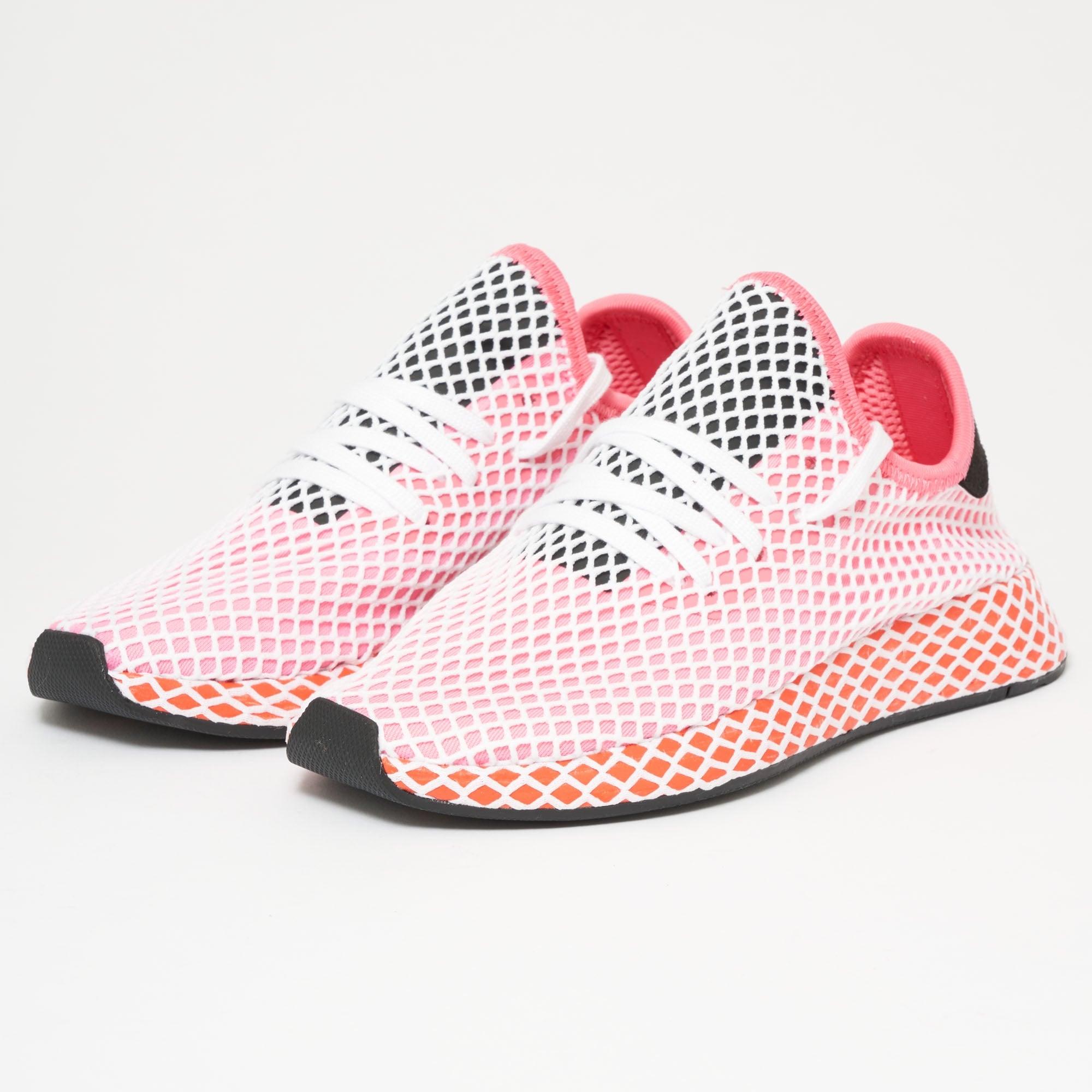 b2f875c812b10 Adidas Originals Womens Deerupt Runner (Pink   Orange) at Dandy Fellow