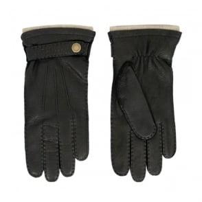 Dents Black Deerskin Gloves 5-1548