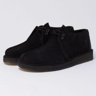 Clarks Originals Desert Trek Black Suede Shoe
