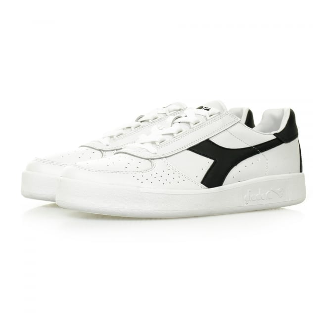 Diadora Borg Elite White Blue Denim Shoe C5943