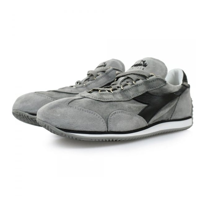 Diadora Equipe S SW Grey Black Shoes 201156552