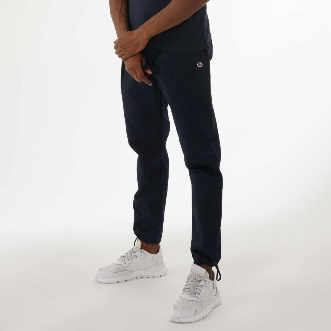 Champion Drawstring Cuffed Woven Joggers Navy