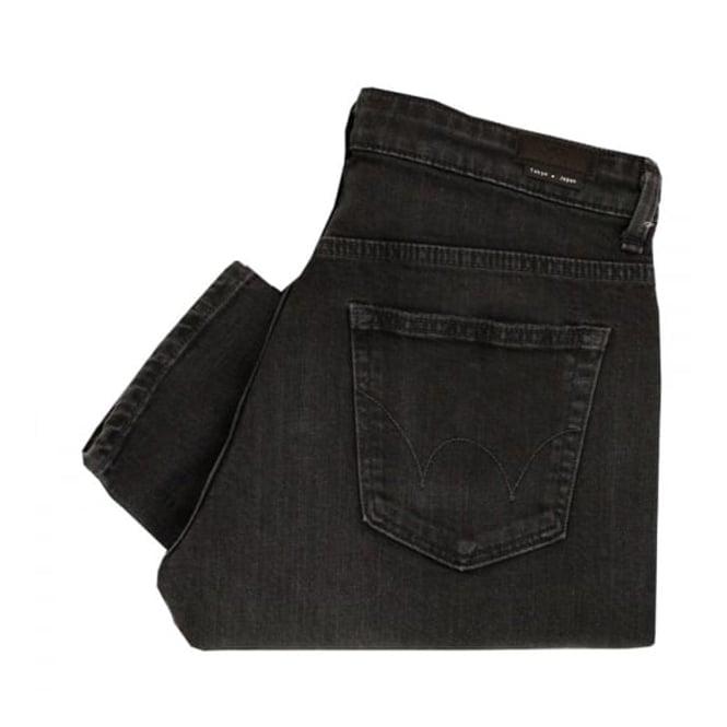 Edwin Edwim E-Standard Modern Black Denim Jeans I021611