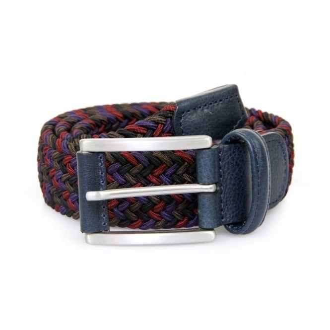 Anderson's Belts Elasticated Woven Textile Braided Belt