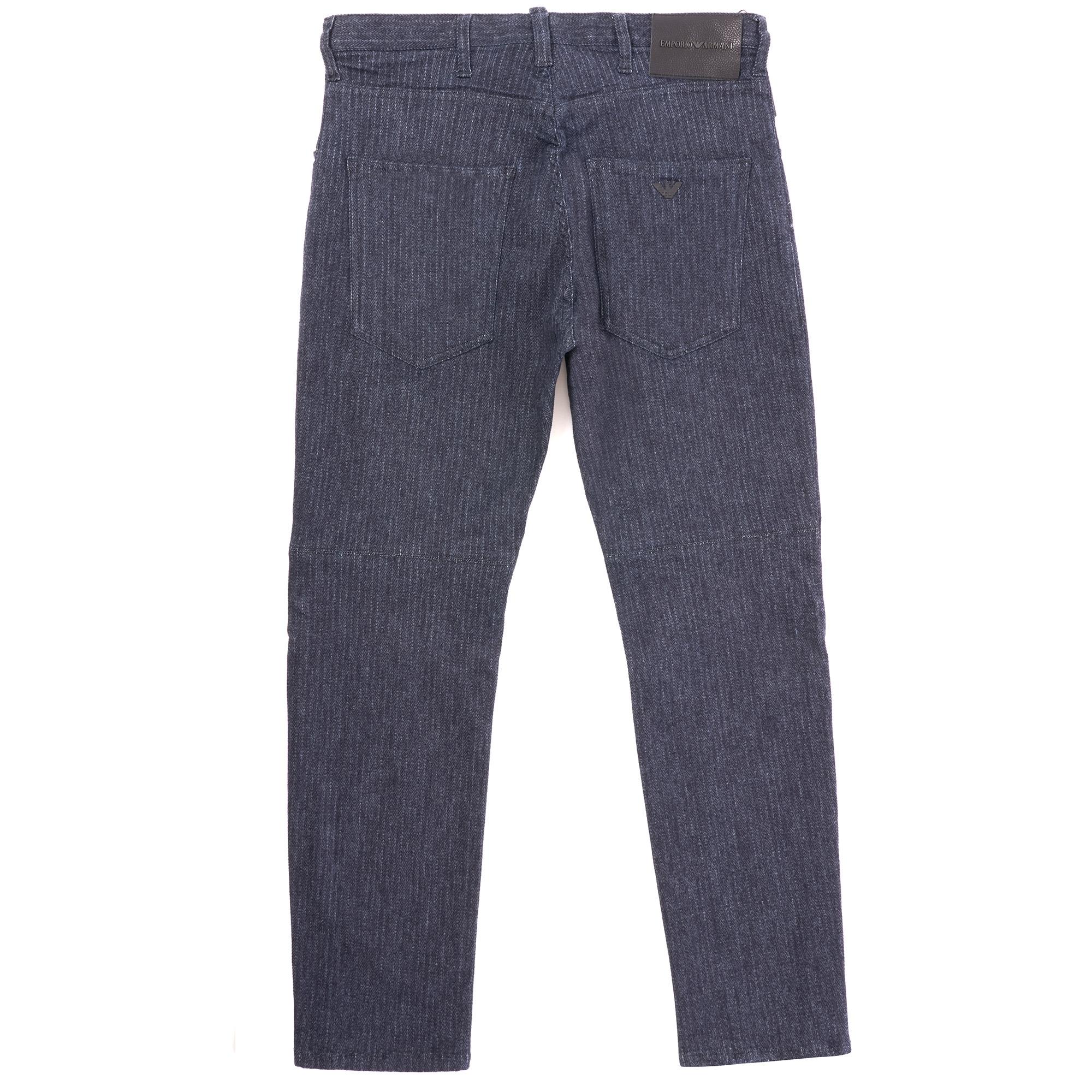 2961fff90f Emporio Armani J04 Loose Fit Striped Jean