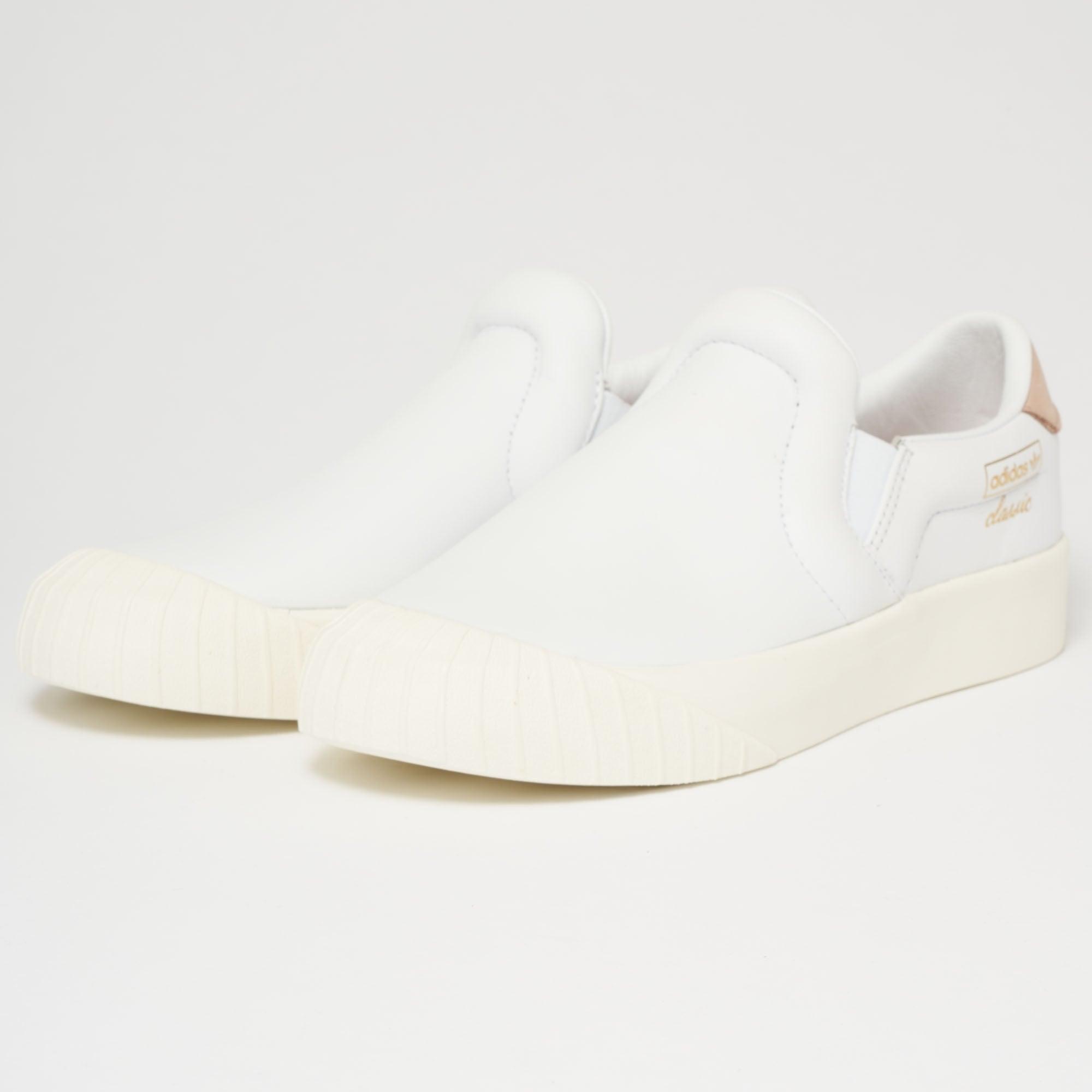3072f9785c7 Adidas Womens Everyn Slip-On Trainer (FTW White) at Dandy Fellow