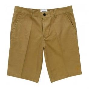 Farah Vintage Berkley Twill Antique Bronze Shorts F4HS5027