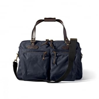 Filson 48 Hour Navy Duffle Bag 70328410135
