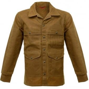 Filson Oil Tin Cloth Tan Cruiser Waxed Jacket 10408242103