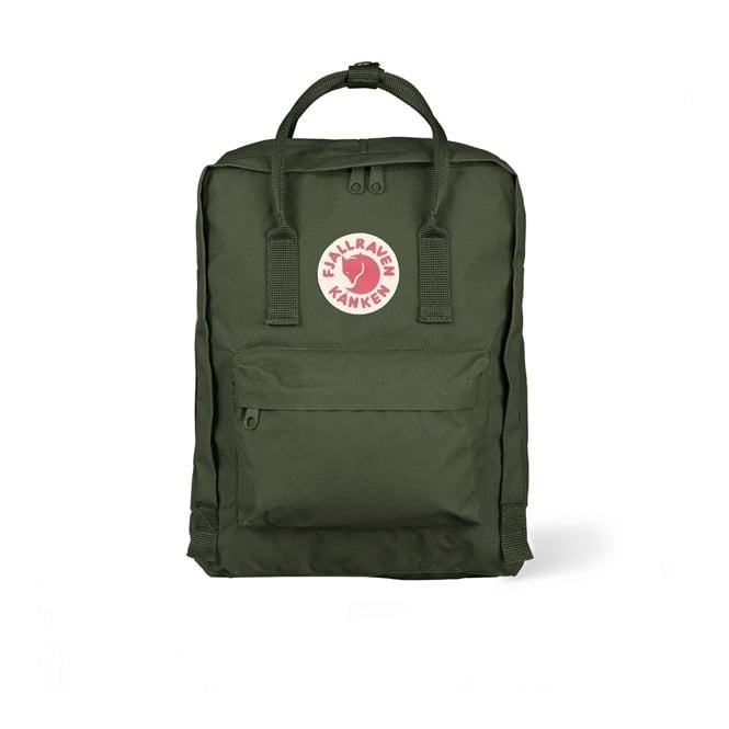 Fjallraven Kanken Forest Green Backpack 23510 660