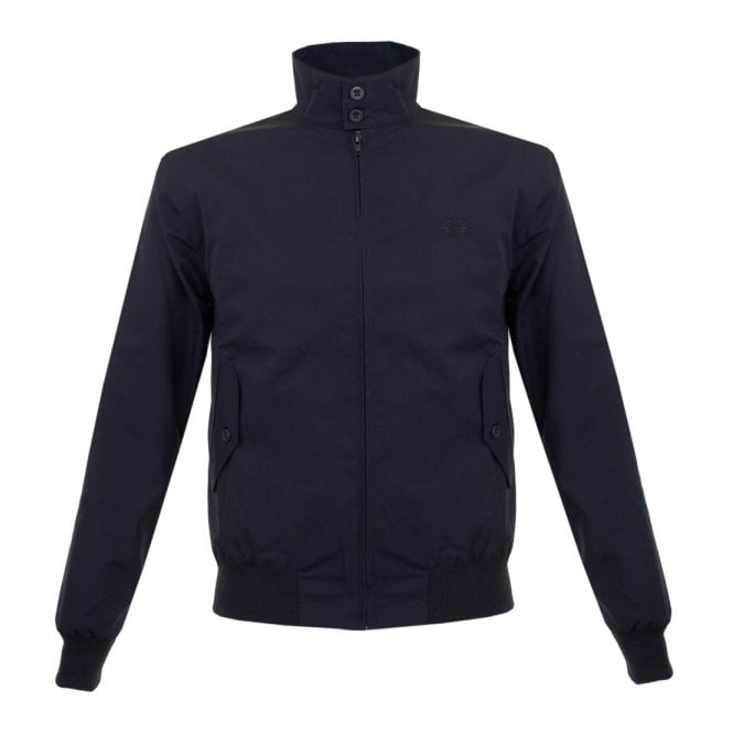 Fred Perry Laurel Wreath Fred Perry Navy Harrington Bomber Jacket J1170