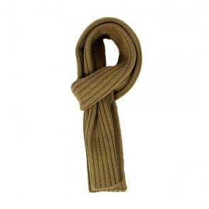Gant Rugger Knit Green Wool Scarf 201303