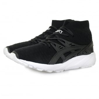 Asics Gel-Kayano Knit Black Shoe H7P4N 9090