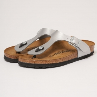 Silver Gizeh Sandals