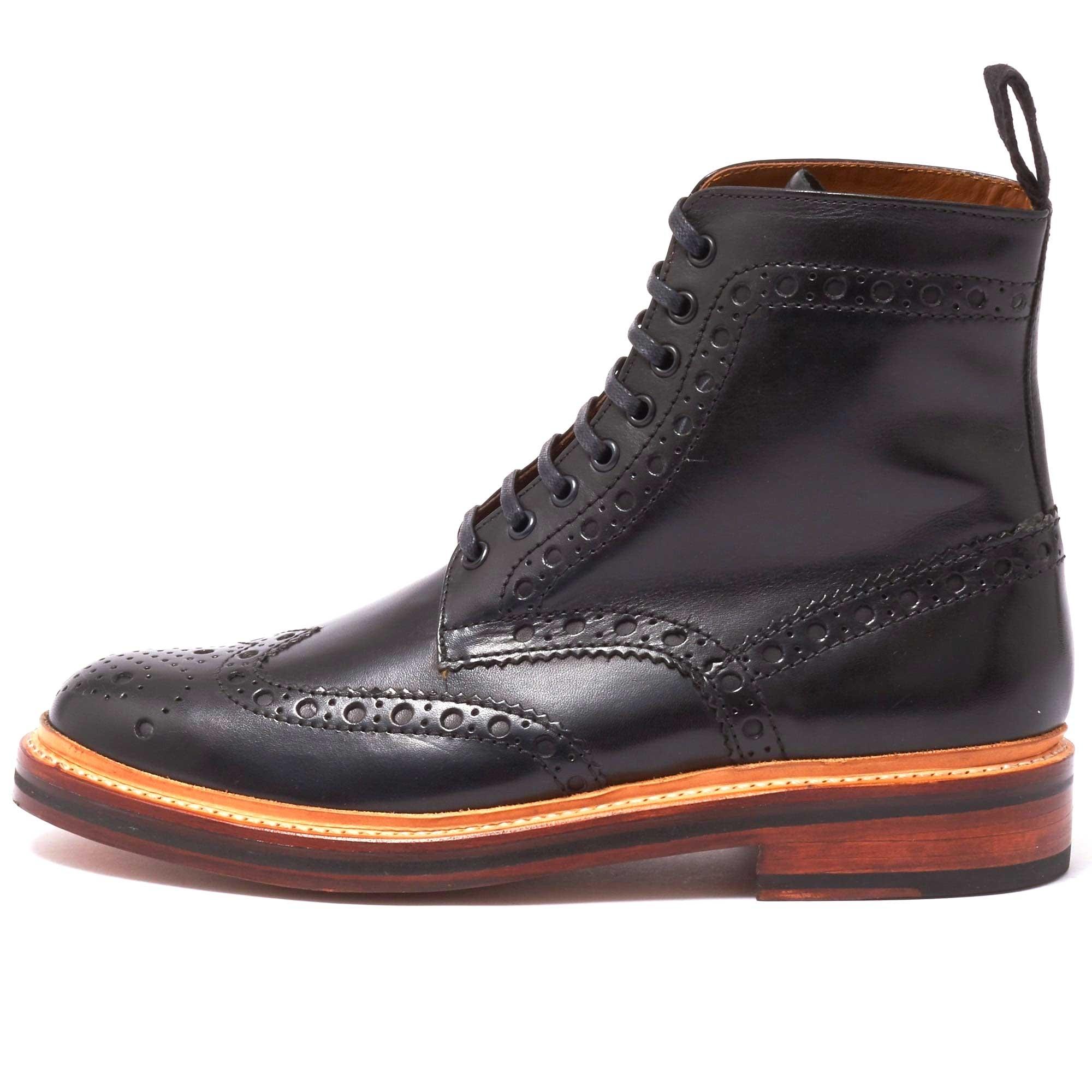 grenson black boots