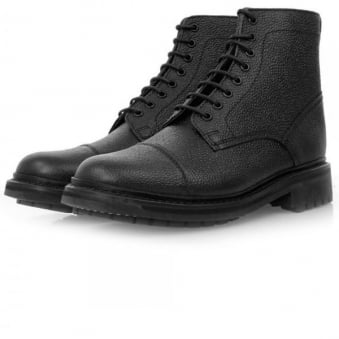 Grenson Joseph Black Leather Boot 5303/426