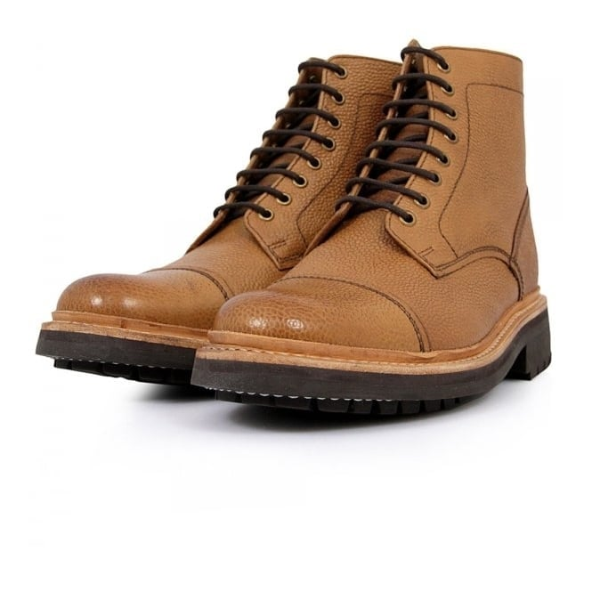 Grenson Joseph Tan Derby Boot 5303/423