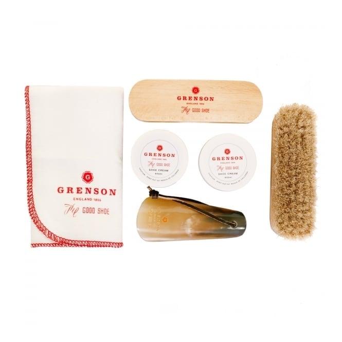 Grenson Shoe care kit gift box 310026SCG