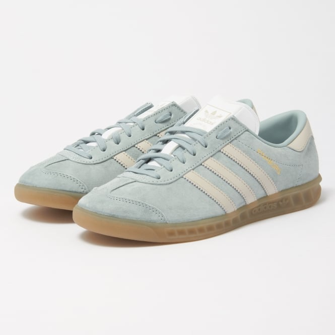 new product c17b0 0fef5 adidas originals hamburg w tactile green